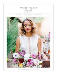 wedding magazine template wedding photography magazine pricing guide template by
