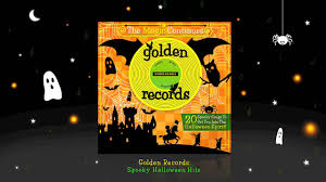 halloween songs for children i my friend the ghost i golden
