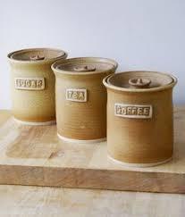 amazon com sango 4 pc nova canister set brown home u0026 kitchen