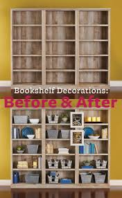 better homes and gardens crossmill bookcase before and after the crossmill bookshelf is the perfect home for