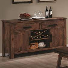 dining room alluring dining room credenza rustic buffet table