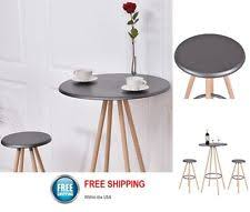 Modern Bistro Table Furniture Table And Chairs Tangkula Steel Frame Dining Set Kitchen
