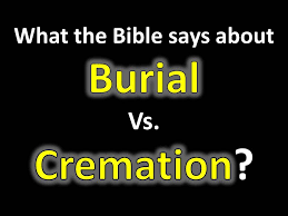cross talk with pastor brad the bible on burial vs cremation