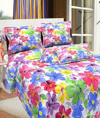 3d Print Bed Sheets Online India Bombay Dyeing Mistyrose Double Bed Sheet Set Buy Bombay Dyeing