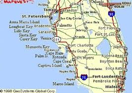 map of gulf coast florida pinevalleydreamvilla com the villa s location