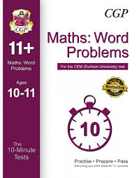 10 minute tests for 11 maths word problems ages 10 11 book 1