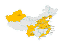 Xiamen China Map by Century 21 China Real Estate