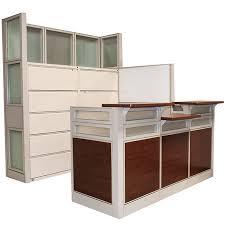 Global Reception Desk Evolve Series Reception Station