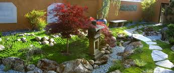 moss and associates with asian landscape and flagstone garden