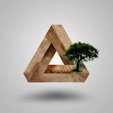 3d wood 3d wood triangle by patentedge on deviantart