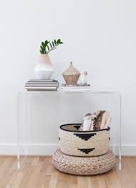 Acrylic Console Table Ikea Clear Console Table Home Is Where Your U003c3 Is Pinterest