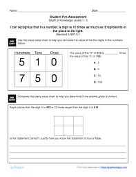 5 nbt 1 place value for multi digit numbers math number