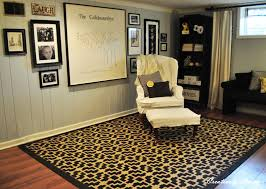 stenciled rug tutorial creatively living blog