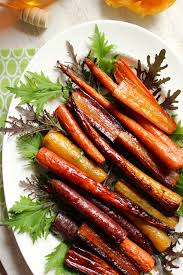 Thanksgiving Recipes Carrots Honey Orange Roasted Carrots From The Fitchen