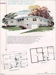 Best Architectural Illustrations Mid Century Modern Images On - Mid century modern home design plans
