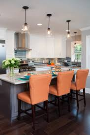 countertops orange chairs and hgtv property brothers on pinterest