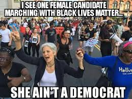 Democrat Memes - san francisco bay view jill stein meme she aint a democrat