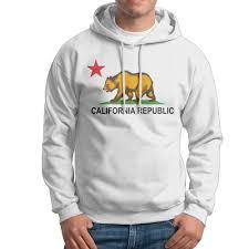 California Republic Flag Click To Buy U003c U003c California Republic Flag Men Hoodies 2017 New