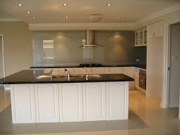kitchen style butcher block kitchen island white granite floors