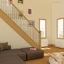 Modern Banisters Uk Axxys Squared Stairs Axxys2 Stair Parts