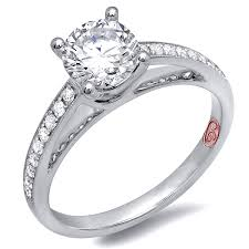 perfect platinum bridal ring demarco bridal jewelry official