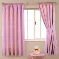 Polka Dot Curtains Polka Dot Pink Blockout Lined Pencil Pleat Curtains Harry Corry