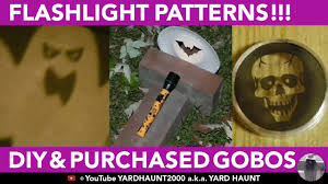 lighting gobos u0026 cutout halloween bat ghost skull patterns