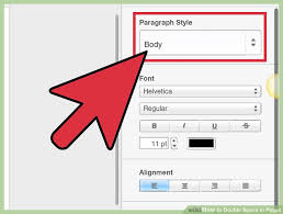 4 ways to double space in pages wikihow
