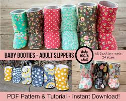 womens size 12 baby boots bootie pattern bundle baby tween and doll
