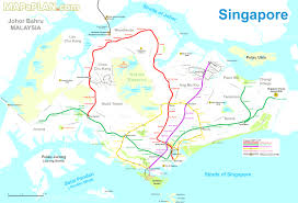 Blank Map Of Singapore by Singapore Tourist Map Adorable Singapore Attractions Evenakliyat Biz