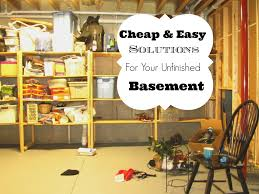 unfinished basement storage ideas 37 photos best in unfinished