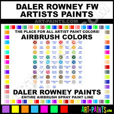 daler rowney fw artists airbrush spray paint colors daler rowney