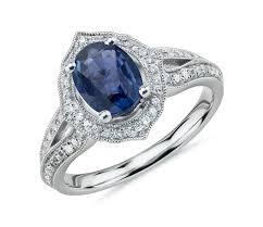 oval sapphire engagement rings truly zac posen oval sapphire split shank engagement ring with