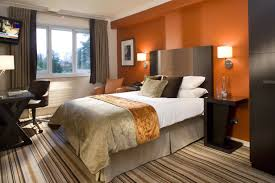 bedroom wonderful orange white wood glass cool design livingroom