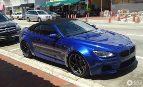 bmw m6 modified bmw m6 f12 cabriolet 18 november 2017 autogespot
