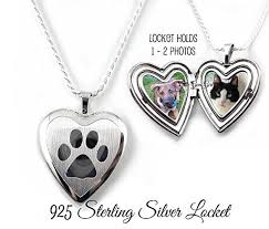 personalized locket necklace sterling silver pet locket personalized with your