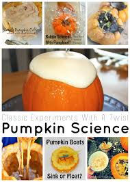 pumpkin science experiments and fall science activities