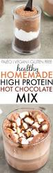 healthy homemade high protein chocolate mix