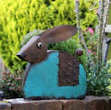 hare garden ornament by blackdown lifestyle notonthehighstreet