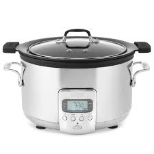 crockpot black friday sale all clad deluxe slow cooker with cast aluminum insert 4 qt