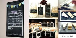 Shabby Chic Kitchen Decorating Ideas Childrens Easel And Chalkboard Stay On Schedule With Color