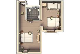plan chambre d hotel chambre d hôtel adaptée hôtel efteling loonsche land