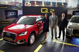 audi showroom audi ph introduces audi q2 as newest member in its roster