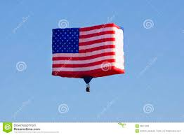 New Jersy Flag American Flag Balloon At The New Jersey Balloon Festival Editorial