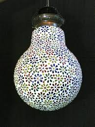 handmade mosaic hanging candle holder buy online anywhere in india