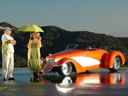 deco rides boattail speedster by chip foose man u0026 woman with