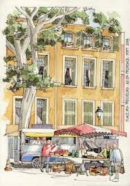 jr sketches luberon france 2013 3 set 2013 street view