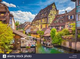 beautiful view of the historic town of colmar also known as