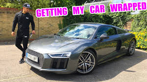 audi r8 tanner braungardt wrapping my new audi r8 youtube