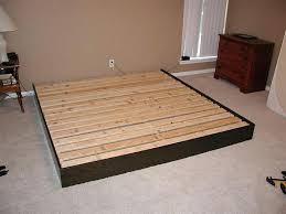 Simple Platform Bed Frame Make A Platform Bed Amusing Building Platform Bed For Simple